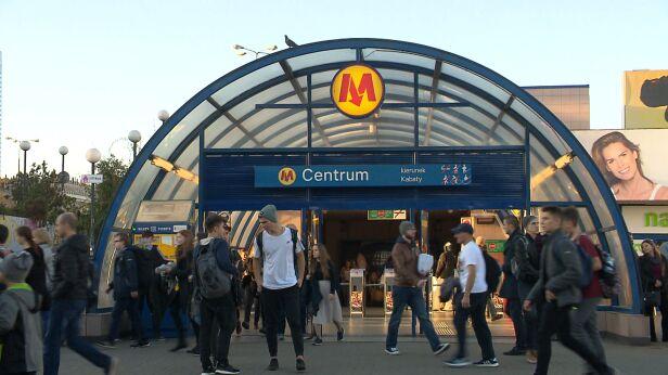 Będą nowe stacje metra? archiwum TVN24