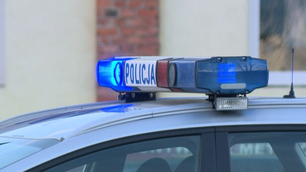 Policja bada okoliczności zdarzenia  archiwum TVN
