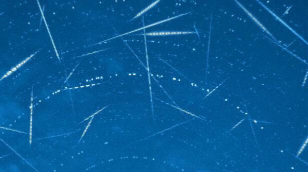 Rój Perseidów - zdjęcie z sierpnia 2011 roku NASA/MSFC/Meteoroid Environment Office