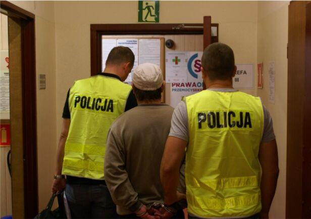Policja zatrzymała poszukiwanego mężczyżnę Komenda Stołeczna Policji
