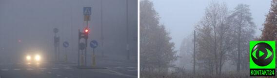 Mgły zamieszały w całej Polsce
