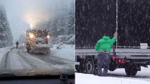Intensywne opady śniegu i oblodzenia. Ostrzeżenia w wielu regionach Polski
