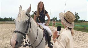 Anna Dec rozmawia z Anną Sokólską, zawodniczką łucznictwa konnego