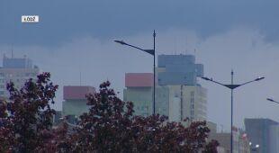 Burza zmierzająca do Łodzi